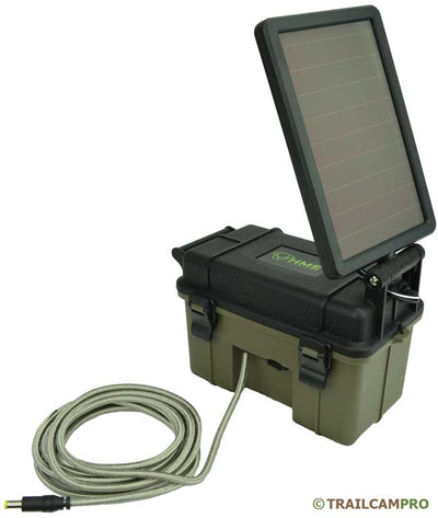 "Solar panel battery pack for trail cameras width=""650"" height=""769"""