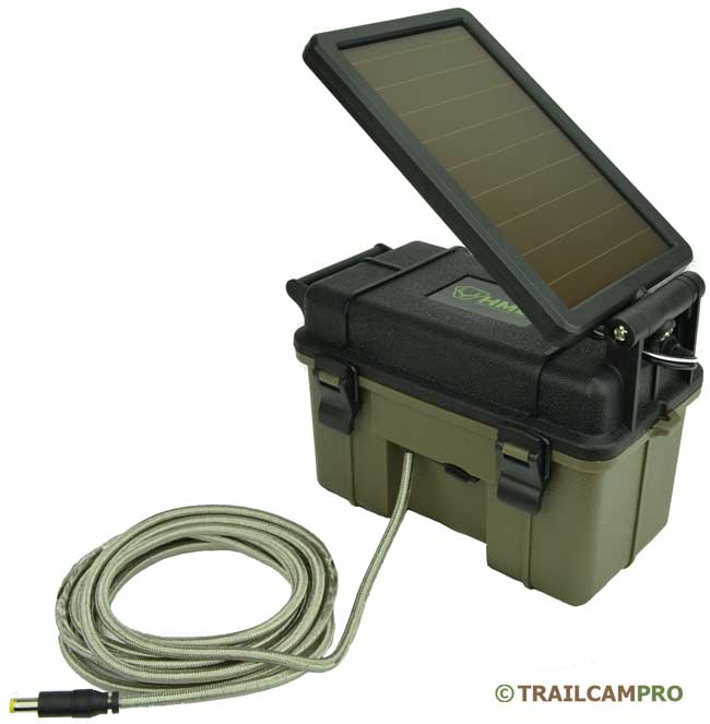 HME 12V SOLAR PANEL POWER PACK