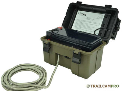 "Solar panel battery pack for trail cameras width=""650"" height=""483"""
