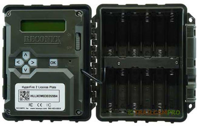 "picture of the inside of a reconyx hyperfire hl2x width=""650"" height=""420"""