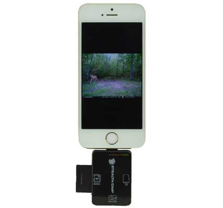 Stealth Cam iOS SD Card Reader