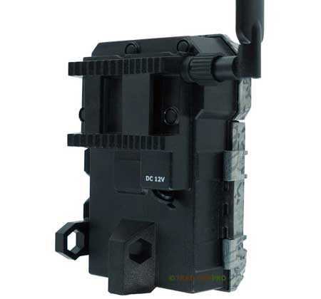 Back view of the Spypoint Link Micro Verizon Cellular Trail Camera