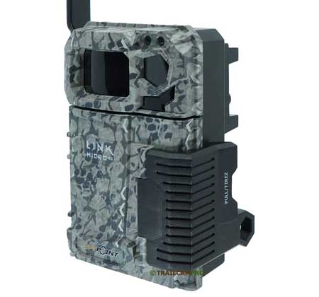 Side view of the Spypoint Link Micro Verizon Cellular Trail Camera