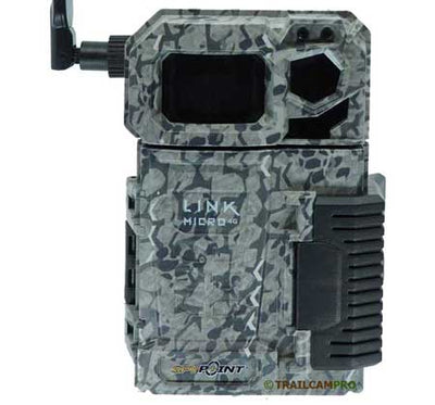 Front view of the Spypoint Link Micro Verizon Cellular Trail Camera