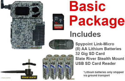 "Spypoint link micro cellular trail camera basic package width=""650"" height=""420"""