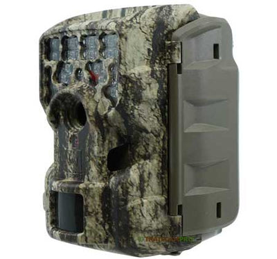 Side view of Moultrie M-8000 trail camera