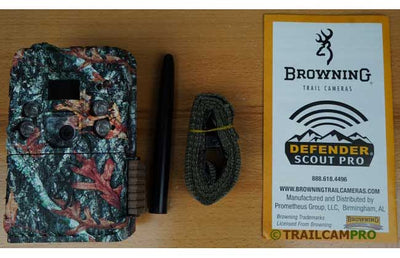 "Browning defender pro scout cellular trail camera contents view height=""450"" width=""420"""
