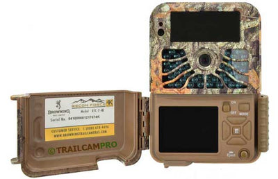 open view of the browning recon force 4k trail camera