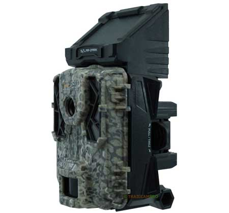 Side View of Spypoint Solar Dark Trail Camera