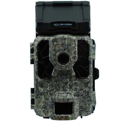 "Front View of Spypoint Solar Dark Trail Camera width=""450"" height=""420"""