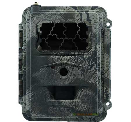 "Spartan 4G LTE cellular trail camera front view width=""450"" height=""420"""