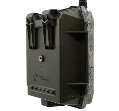 "Spartan GoLive live streaming cellular trail camera back view width=""450"" height=""420"""