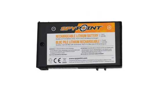 SPYPOINT LITHIUM BATTERY (NO CHARGER) LIT-09
