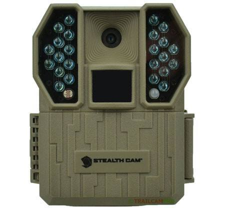 red glow infrared stealth cam