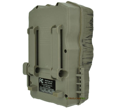 Back view of the Stealth Cam XV4 Trail Camera
