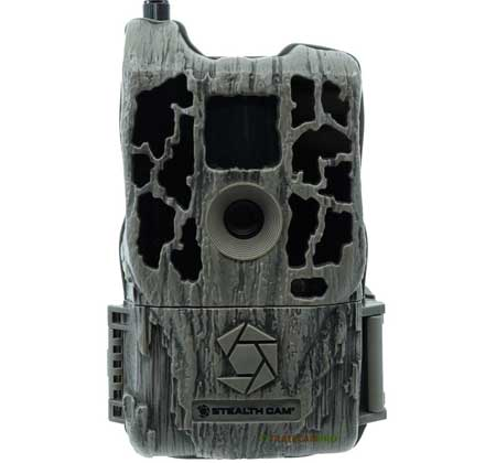 Front view of the Stealth Cam FLX WiFi camera