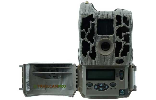 Open view of the Stealth Cam FLX WiFi camera