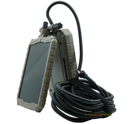 "stealth cam solar panel with battery width=""450"" height=""420"""