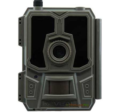 "Tactacam reveal cellular trail camera front view width=""450"" height=""420"""