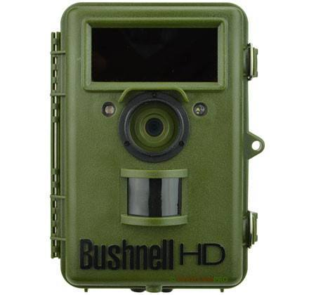 "Front View of Bushnell Natureview Cam HD Trail Camera  width=""450"" height=""420"""