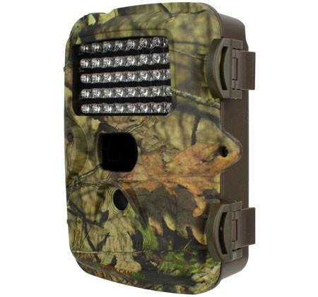 Covert red glow trail | game camera