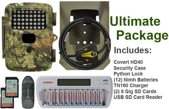 Covert HD 40 game camera package