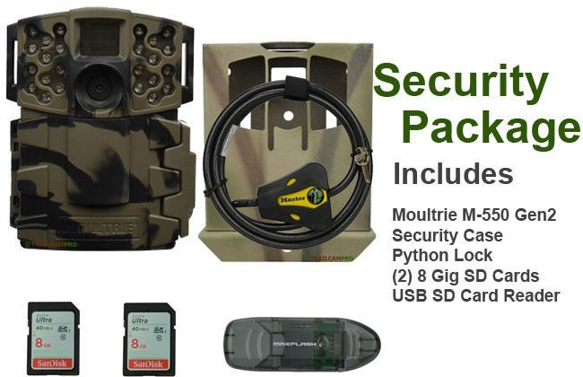 Game Camera package for Moultrie M-550 gen2