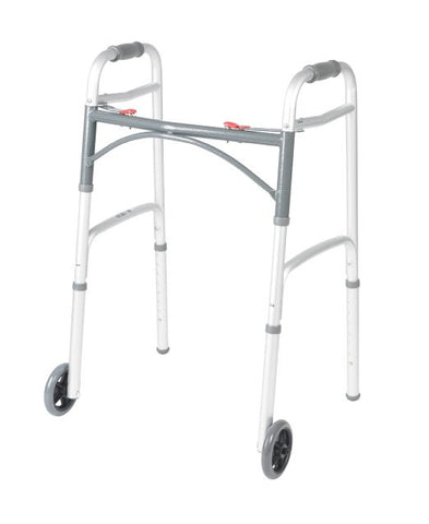Walker Deluxe Adult 2 Button with 5 in Wheels