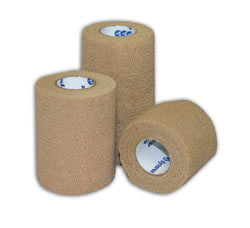 Dynarex Sensi-Wrap, Tan Self-adherent, Coban Coflex