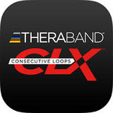 Thera-Band CLX Resistance Bands - 5 ft Pre-Cut Bands