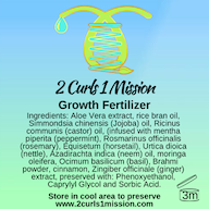 Preorder 2 Curls 1 Mission Growth Fertilizer