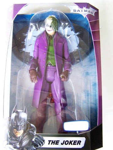"12"" Dark Knight Joker Exclusive Action Figure by Mattel"