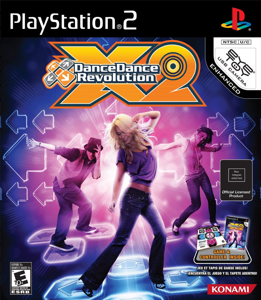 Dance Dance Revolution X2 Bundle - PlayStation 2