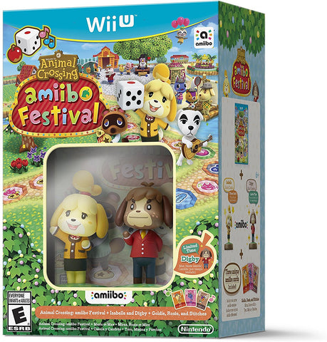 Animal Crossing: amiibo Festival Bundle - Wii U