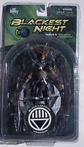 DC Direct Blackest Night: Series 6: Black Lantern Hawkgirl Action Figure