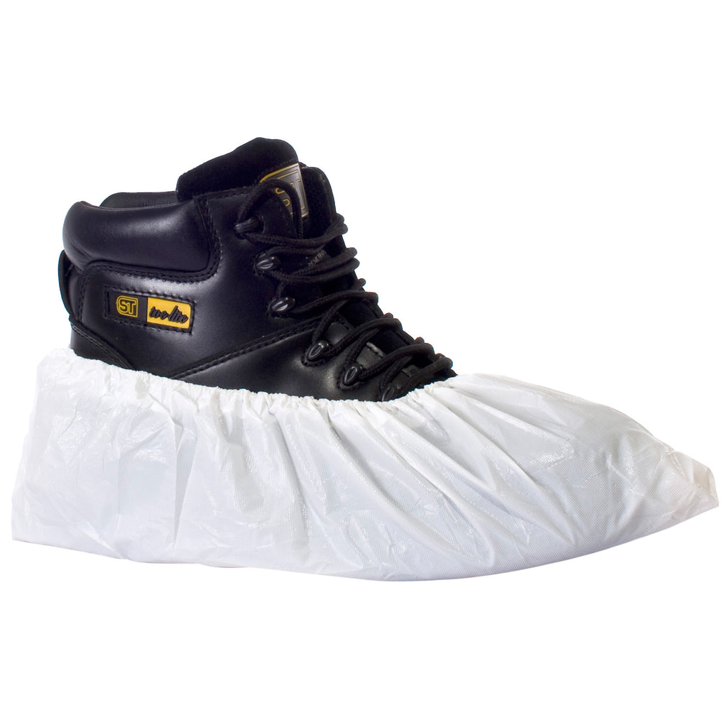 Supertouch Disposable CPE Overshoes - White - Worklayers