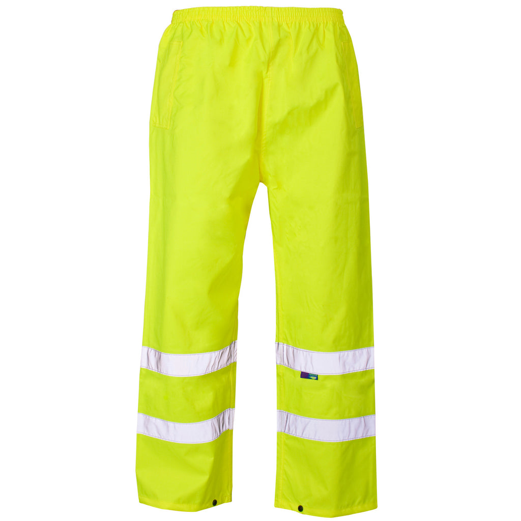Supertouch Hi Vis Trousers - Yellow - Worklayers