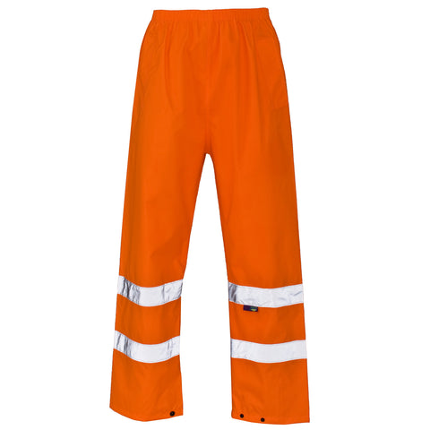 Supertouch Hi Vis Trousers - Orange - Worklayers