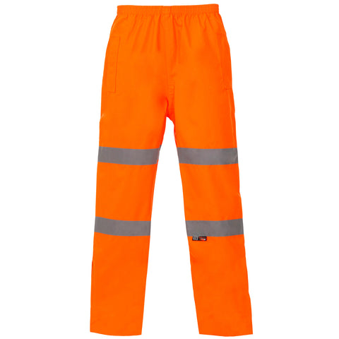 Hi Vis Breathable Trousers Supertouch - Orange - Worklayers