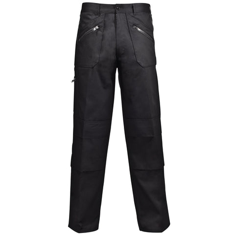 Action Trousers - Supertouch Black Work Trousers