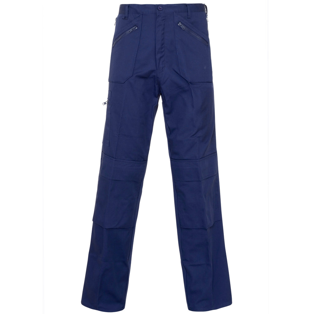 Action Trousers - Supertouch Navy Work Trousers