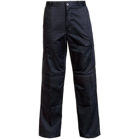 Cargo Trousers - Supertouch Black Combat Trousers