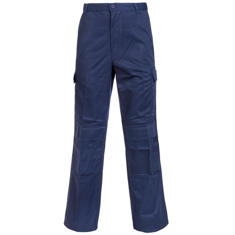 Cargo Trousers - Supertouch Navy Combat Trousers