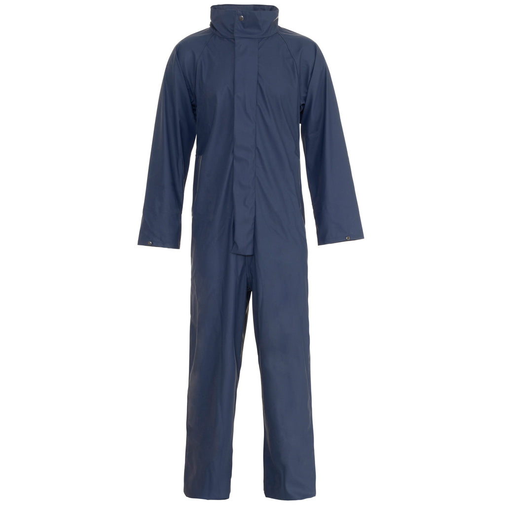Supertouch Storm-Flex PU Coverall - Navy - Worklayers