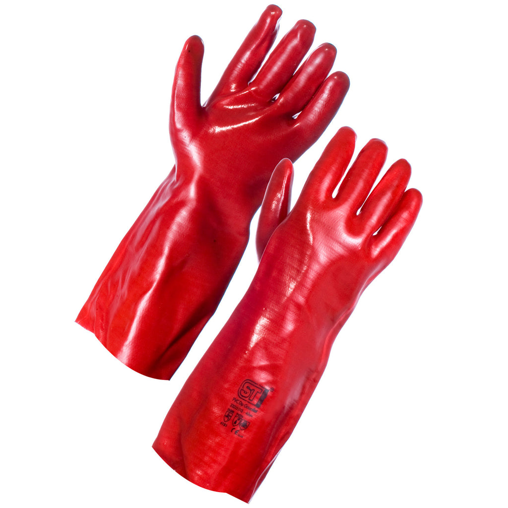 Supertouch PVC Dipped Gauntlet 40cm - Worklayers
