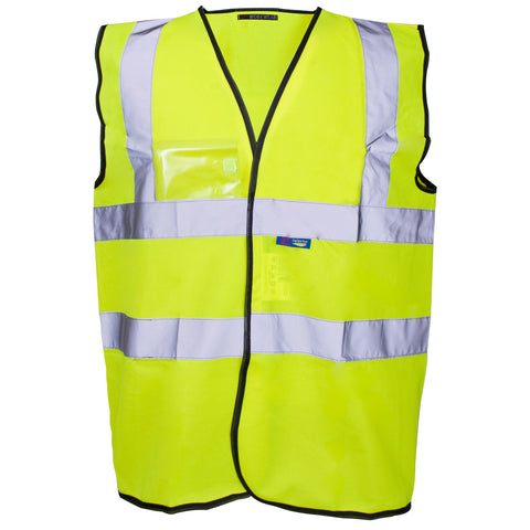 Supertouch Hi Vis Vest - ID Pocket - Worklayers