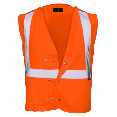 Supertouch Hi Vis Underground Tracker Vest - Worklayers