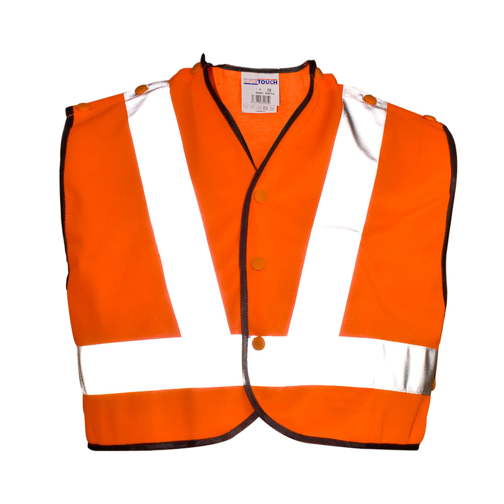 Supertouch Hi Vis Tracker Mini Vest - Worklayers