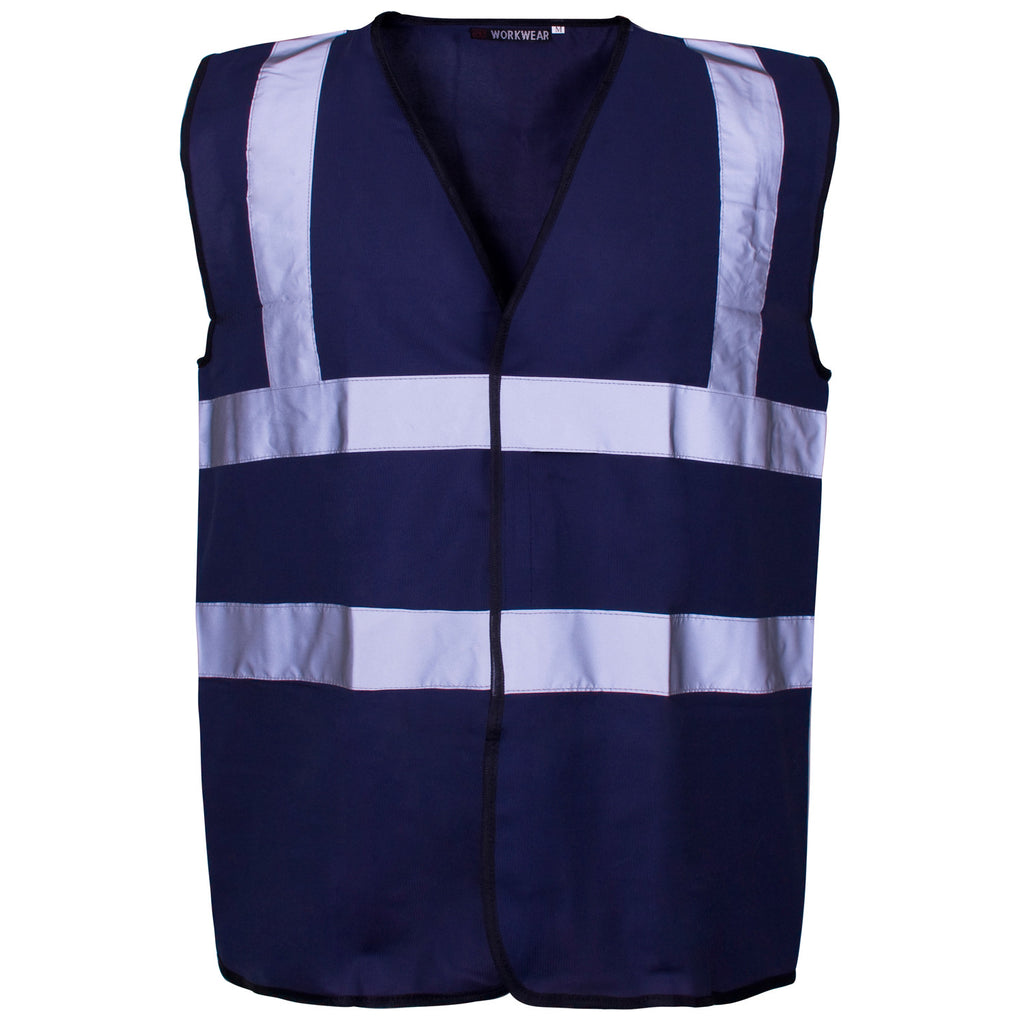 Supertouch Hi Vis Vest - Blue - Worklayers
