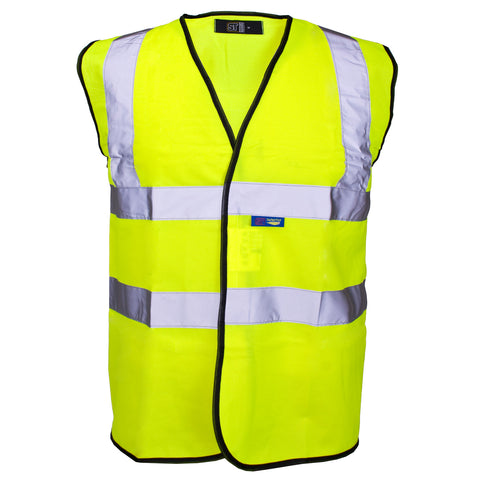 Supertouch Hi Vis Vest - Yellow - Worklayers